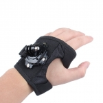 360 Degree Rotation Glove style Wrist Hand Band Mount Strap