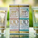 ดีดี ครีม น้ำแตก ครีมพอกตัวขาว SWP Beauty House DD Cream UV White Magic