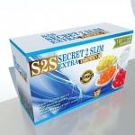 S2S SECRET 2 SLIM EXTRA DETOX เอส 2 เอส ผลิตภัณฑ์น้ำชงลดน้ำหนัก