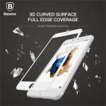 ฟิล์มกระจกเต็มจอ iphone 6 , 6s ลงโค้ง 3D ยี่ห้อ Baseus