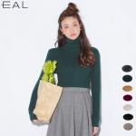 EAL เสื้อไหมพรมคอเต่าญี่ปุ่น