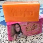 White Aura Miracle Carrot Soap สบู่ไวท์ออร่า สารสกัดจากแครอทแท้ 100% ผิวขาวใสไร้สิว