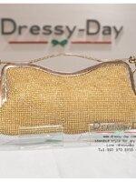 กระเป๋าออกงาน TE005: กระเป๋าออกงานพร้อมส่ง สีทอง มีที่จับ สวยหรูมากค่ะ ราคาถูกกว่าห้าง ถือออกงาน หรือ สะพายออกงาน น่ารักที่สุด