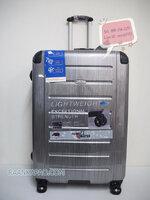 กระเป๋าเดินทาง 100%PC Flying master 3037 ขนาด 29 นิ้ว สีเงินลาย ส่งฟรีkerry