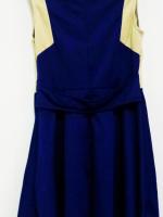 ชุดเดรสสีน้ำเงิน