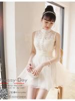 รหัส ชุดราตรี :JE002 เดรสออกงาน ชุดราตรีสั้น ชุดออกงาน ชุดไปงานแต่งงาน เหมาาะใส่งานแต่งงาน งานหมั้น งานกลางวัน กลางคืน ชุดถ่ายพรีเวดดิ้งใส่ถ่ายพรีเวดดิ้งแนวเจ้าหญิ