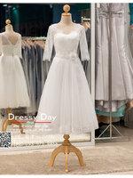 รหัส ชุดราตรีสั้น :BB134 มีชุดราตรีสวย สีขาว สั้น เหมาะใส่งานหมั้น งานเช้า หรู พร้อมส่งเยอะสุดในไทย เนื้อผ้าพรีเมี่ยม คัตติ้งเนี๊ยบๆ แขนยาว
