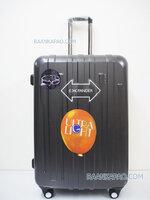 กระเป๋าเดินทางยี่ห้อไฮโปโล 90%PC รุ่น Hipolo-1156 สีเทา ขนาด 28 นิ้ว ส่งฟรี