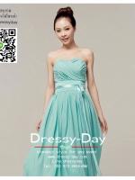 รหัส ชุดราตรียาว : YI076 ชุดแซกสวยหรู ด้วยชุดราตรียาวสีฟ้า เกาะอก เหมาะใส่ออกงานแต่งงาน งานกลางวันกลางคืน