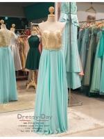 รหัส ชุดราตรี :PF021 - 2 ชุดแซก ชุดราตรียาว หรู สีฟ้า สวยเก๋มากๆ เหมาะสำหรับงานแต่งงาน งานกลางคืน กาล่าดินเนอร์