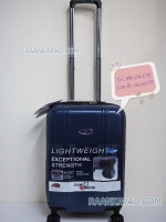 กระเป๋าเดินทางPC Alloy ยี่ห้อ Flying master ขนาด 20 นิ้ว สีน้ำเงิน ส่งฟรี