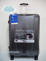 กระเป๋าเดินทาง 100%PC/ABS Flying master San3056 ขนาด 29 นิ้ว สีเทา ส่งฟรี
