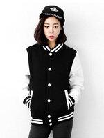 เสื้อคลุมแฟชั่น Classic stlye สวยปนเท่ห์สไตล์เกาหลี-1662-สีดำ