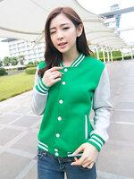 เสื้อคลุมแฟชั่น Classic stlye สวยปนเท่ห์สไตล์เกาหลี-1662-สีเขียว