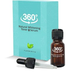 360 Natural Whitening Toner โทนเนอร์ 360 สลายฝ้า หน้าใส