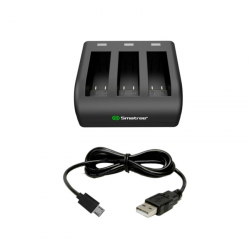 Smatree 3-Channel Charger for Gopro Hero 5 Black