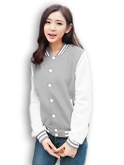 เสื้อคลุมแฟชั่น Classic stlye สวยปนเท่ห์สไตล์เกาหลี รหัส 1662-สีเทา