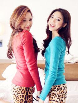 ชุดเดรสแฟชั่นเกาหลี ต่อผ้าลายเสือ มี 3 สี