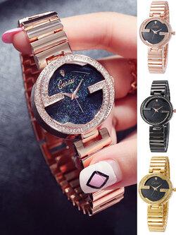 นาฬิกาแฟชั่นผู้หญิง แบรนด์เกาหลี CACAXI -3 สี รหัส W002