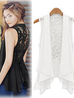 เสื้อคลุมแฟชั่น แบบสวยหวานสไตล์เกาหลี 4 ไซส-M/L/XL/2XL รหัส 1851-สีขาว
