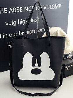 กระเป๋าแฟชั่น ปริ้นลายมิกกี้ เม้าท์สุดน่ารัก รหัส B024