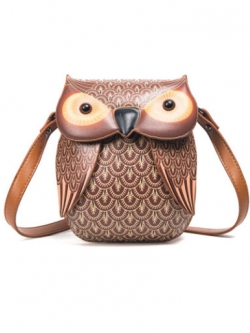กระเป๋าสะพาย-B031-สีน้ำตาล
