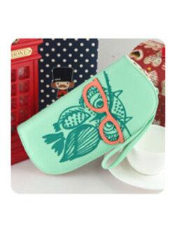กระเป๋าเงินผู้ญิง-B028-สีเขียว