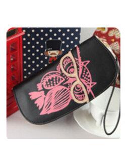 กระเป๋าเงินผู้ญิง-B028-สีดำ