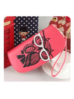 กระเป๋าเงินผู้ญิง-B028-สีแดง