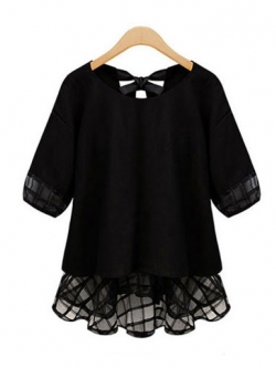 เสื้อแฟชั่นผู้หญิง-1787-สีดำ