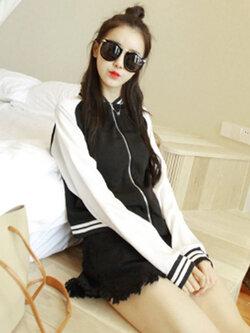 เสื้อคลุมกันแดด กันหนาว ก็ได้ น่ารักแอบเท่ห์ สไตล์สาวเกาหลี