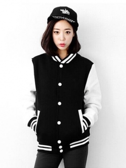 เสื้อคลุมแฟชั่น Classic stlye สวยปนเท่ห์สไตล์เกาหลี รหัส 1662-สีดำ