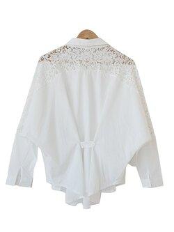 เสื้อแฟชั่นสีขาว-1735-สีขาว