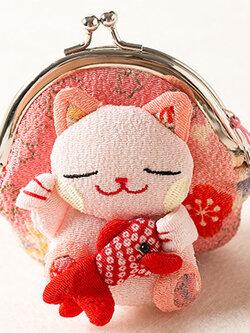 กระเป๋าแมวเนโกะสีชมพู