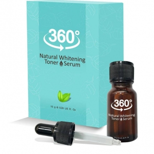 360 Natural Whitening Toner โทนเนอร์ 360 สลายฝ้า หน้าใส