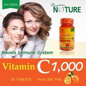 The Nature Vitamin C 1,000 วิตามินซี