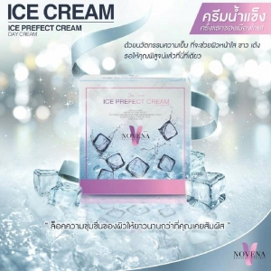 ICE CREAM ICE PERFECT CREAM (Day Cream) by NOVENA โนวีน่า ไอซ์ เพอร์เฟค ครีม ครีมน้ำแข็ง สูตรกลางวัน
