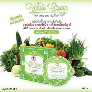 White Cream by Wink White ไวท์ ครีม บาย วิงค์ไวท์ ครีมหัวเชื้อเร่งขาวไวท์ครีม สารสกัด จากเอนไซม์จากพืชและผักบริสุทธิ์