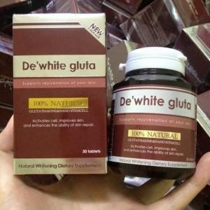 De'White Gluta Gluta Stem Cells OverWhite 2 in 1 ดีไวท์ กลูต้า กลูต้าหน้าเด็ก