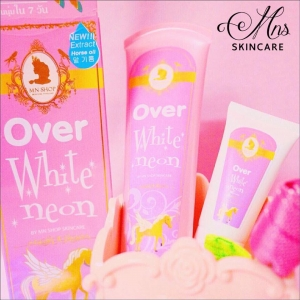 Over White Neon by Mn โอเวอร์ ไวท์ นีออน โลชั่นนีออน ปรับผิวเรียบเรียน กระจ่างใส