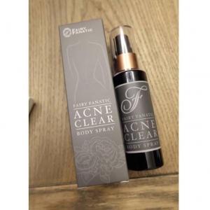 Acne Clear Body Spray by Fairy Fanatic แอคเน่ เคลียร์ บอดี้ สเปรย์ฆ่าสิว เนียนใส ไร้สิว กล้าโชว์ผิวทุกองศา