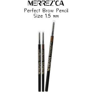 MERREZ'CA Perfect Brow Pencil เมอร์เรซกา ดินสอเขียนคิ้ว ขนาด 1.5 มม.