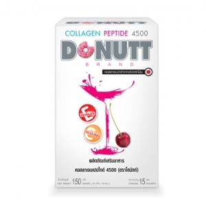 Donut Collagen Peptide 4500 โดนัท ผลิตภัณฑ์เสริมอาหาร คอลลาเจนเปปไทด์ 4500