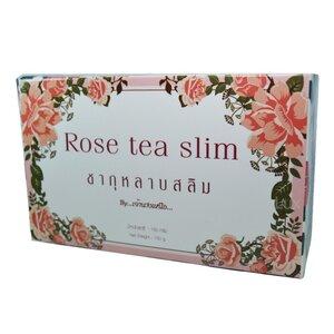 Rose tea slim ชากุหลาบสลิม By เจ้านางเหนือ ชากุหลาบ ผอมหุ่นดี ผิวอมชมพู