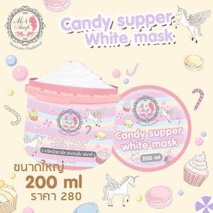 Candy supper white mask by MN Shop มาร์คแคนดี้พอกผิวขาวใน 30 นาที