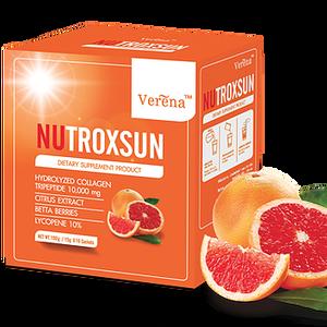 NUTROXSUN by Verena นูทรอกซ์ซัน บาย เวอรีน่า กันแดดดื่มได้ ลบเลือนฝ้า กระ ขาวเด้ง เห็นผลไว