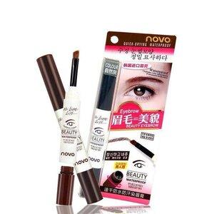 novo Eyebrow cream BEAUTY WATERPROOF โนโว เจลเขียนคิ้วน้ำสไตล์เกาหลี คิ้วสวยดูมีมิติ