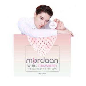Mordaan White Strawberry มอแดน ไวท์สตรอว์เบอร์รี่ ครีมสตรอว์เบอร์รี่ขาว