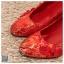 รหัส รองเท้าไปงาน : RR008 รองเท้าเจ้าสาว พร้อมส่ง ตกแต่งกระดุมจีน สีแดง ปักดิ้นทอง สวย สง่า ดูดีแบบเจ้าหญิง ใส่เป็นรองเท้าคู่กับชุดกี่เพ้า ชุดยกน้ำชา ชุดงานหมั้น หรือ ใส่ออกงาน กลางวัน กลางคืน สวยสง่าดูดีมากคะ ราคาถูกกว่าห้างเยอะ thumbnail 3