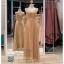 รหัส ชุดราตรี :PF088 ชุดราตรียาว สีทอง ดีเทลเพชรทั้งชุด สวยหรูสง่าดูดีมากๆ จะใส่ไปงานแต่งงาน งานเลี้ยง งานประกวด งานรับรางวัล งานกาล่าดินเนอร์ งานพรอม งานบายเนียร์ หรือเป็นชุดเพื่อนเจ้าสาว สวยหรู ดูดีสุดๆ thumbnail 1
